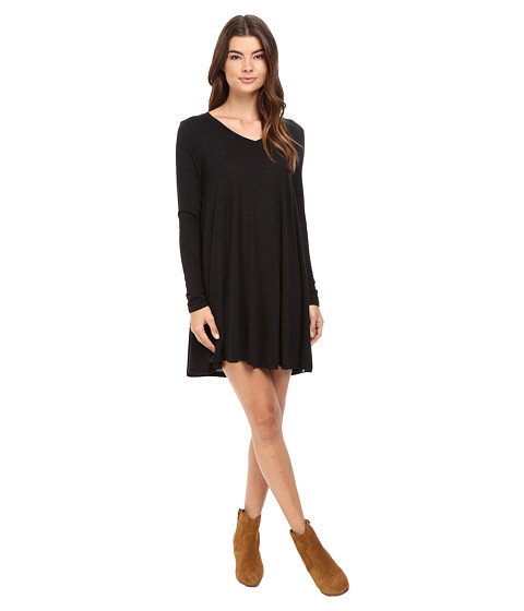 Volcom Lived In Long Sleeve Dress