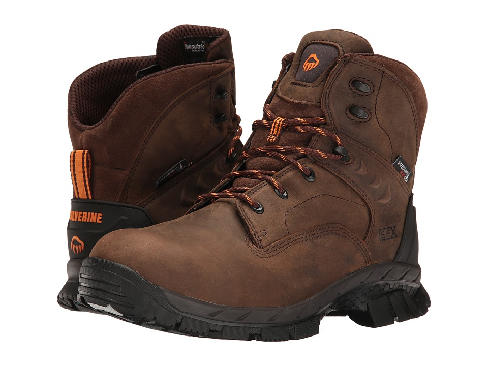Wolverine Glacier Ice Composite Toe Boot (Summer Brown) Men