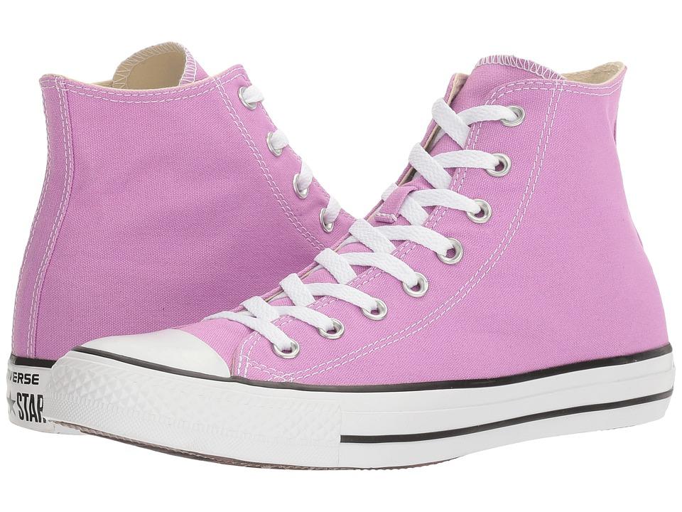 Converse Chuck Taylor All Star Seasonal Color Hi (Fuchsia Glow) Lace up casual Shoes