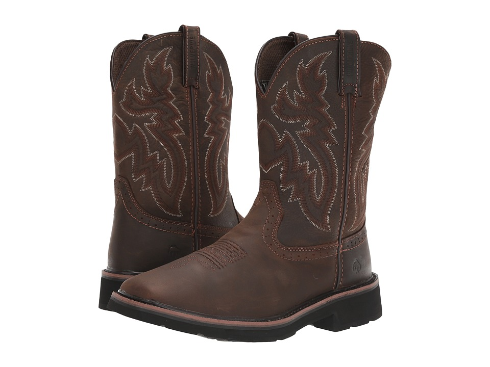 Wolverine Rancher Wellington Soft Toe (Dark Brown/Rust) Men