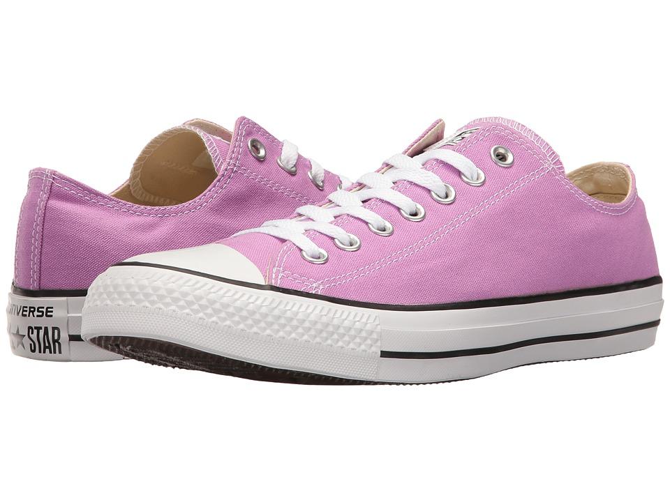 Converse Chuck Taylor All Star Seasonal OX (Fuchsia Glow) Athletic Shoes