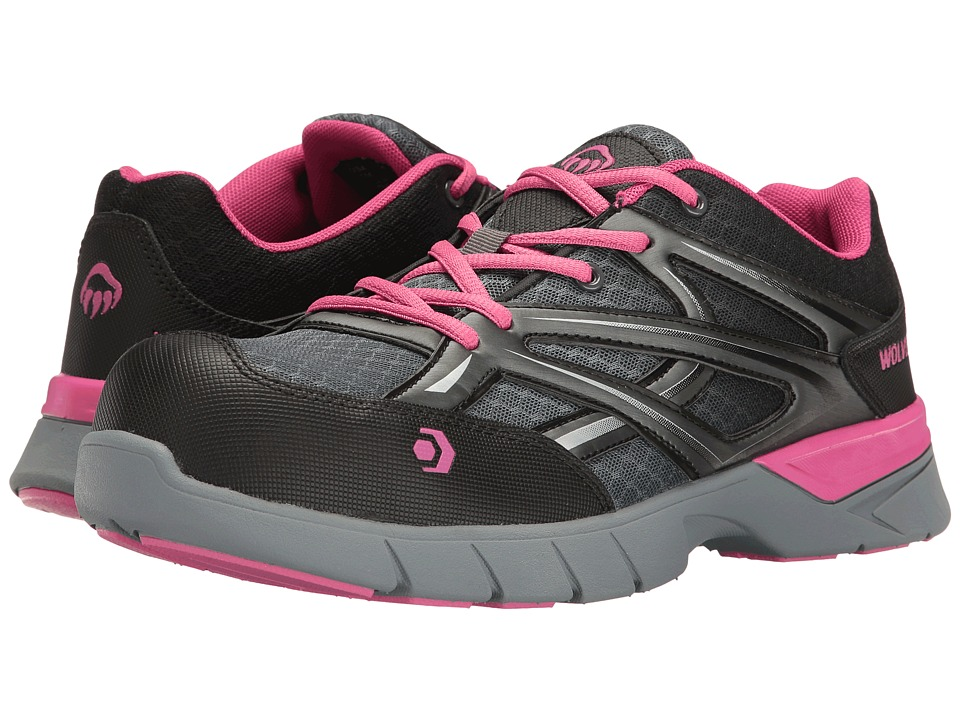 Wolverine Jetstream Composite Toe (Grey/Pink) Women