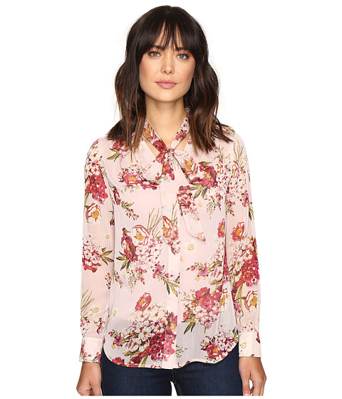 KUT from the Kloth Amelie Tie Front Top