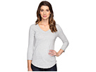 Classic Jersey Seamed V-Neck Tee