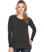 Mod-o-doc - Heather Sweater w/ Rib Long Sleeve Pullover