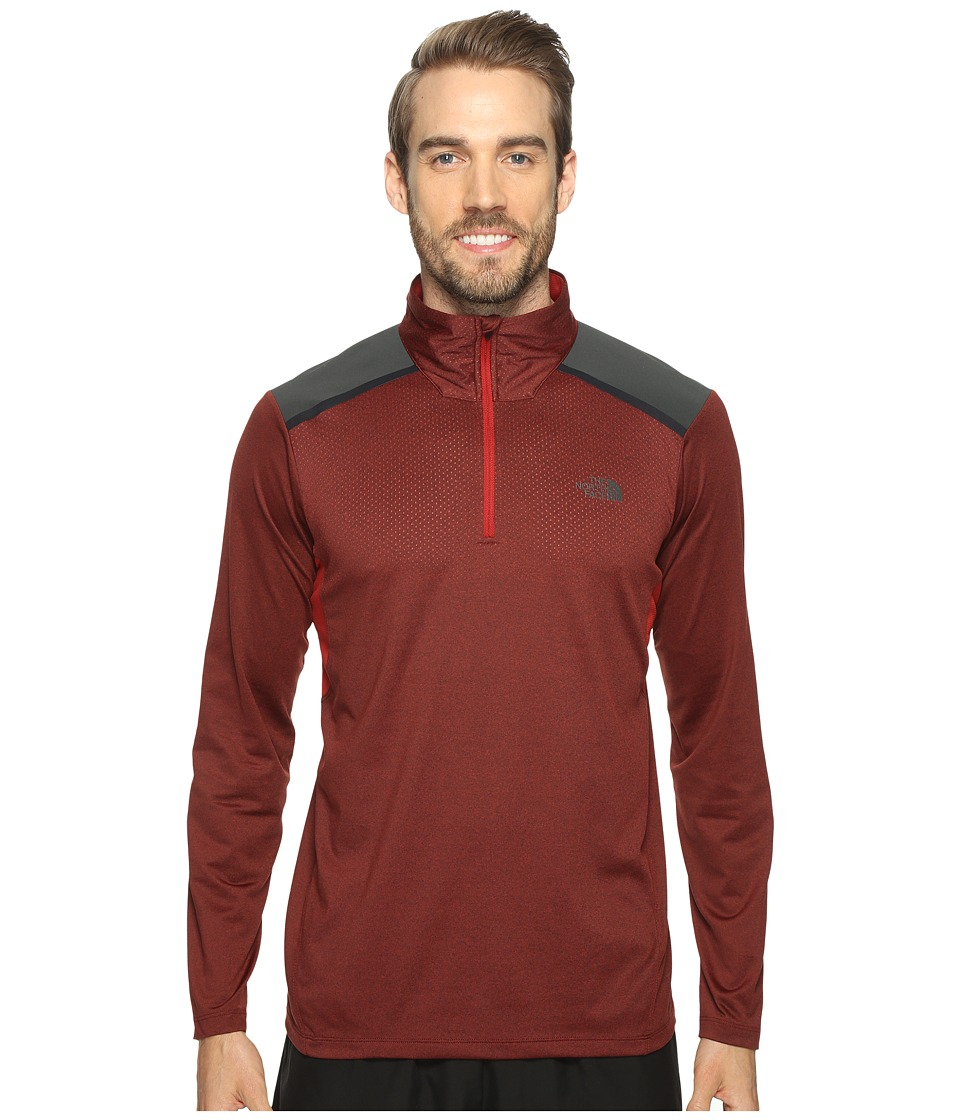 The North Face Kilowatt 1/4 Zip (Cardinal Red (Prior Season)) Men