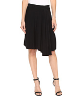 Mod-o-doc - Cotton Modal Spandex Jersey Short Hi-Low Hem Skirt