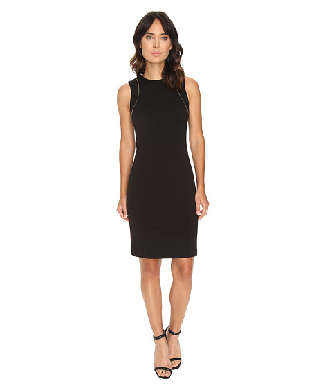 Calvin Klein Sheath Dress w/ Zip at Shoulder