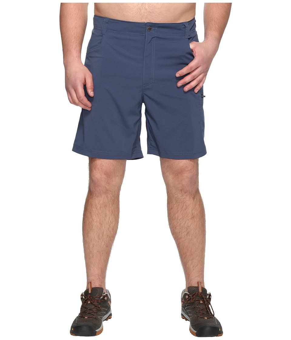 Columbia Big Tall Silver Ridge Stretch Shorts (Zinc) Men