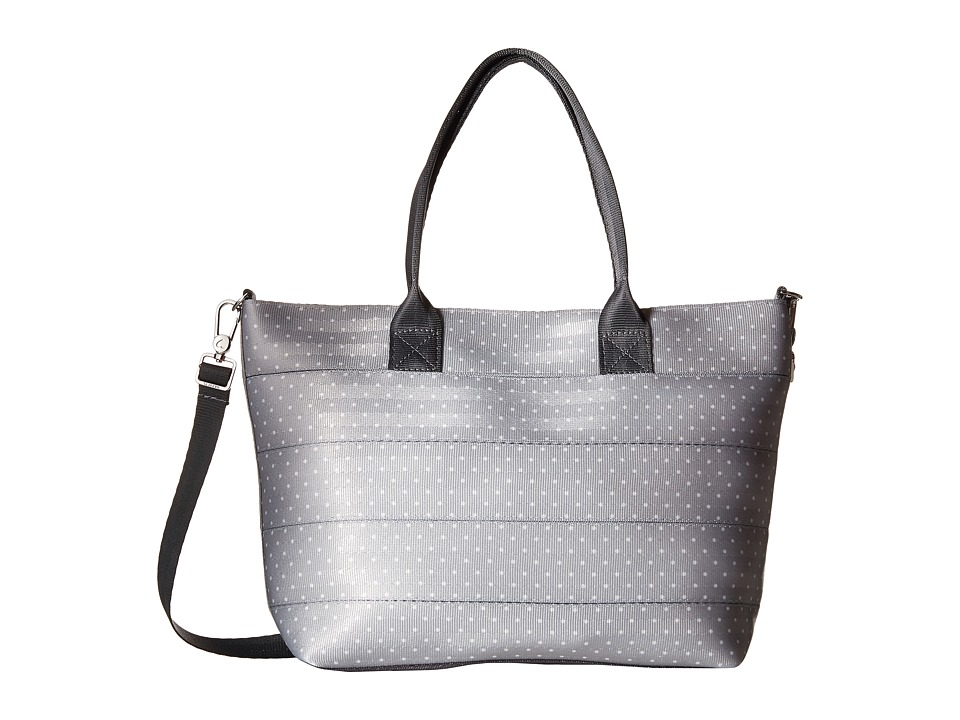 Harveys Seatbelt Bag - Mini Streamline Tote (Dove And White Dot) Tote Handbags