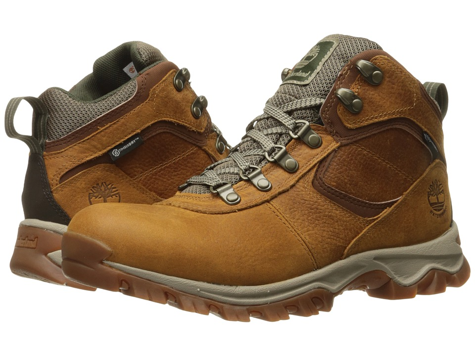 Timberland Earthkeepers Mt. Maddsen Mid Waterproof (Light Brown Full Grain) Men