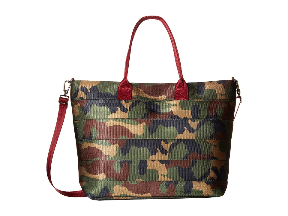 Harveys Seatbelt Bag - Medium Streamline Tote (Camo) Tote Handbags
