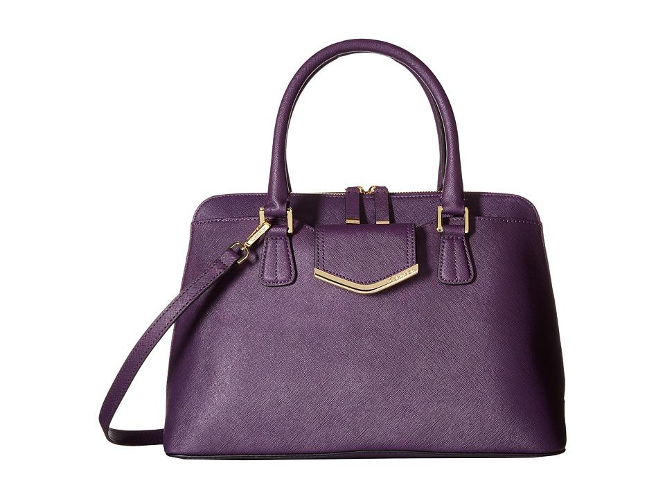 Calvin Klein - On My Corner H3GD11RP (Acai) Satchel Handbags