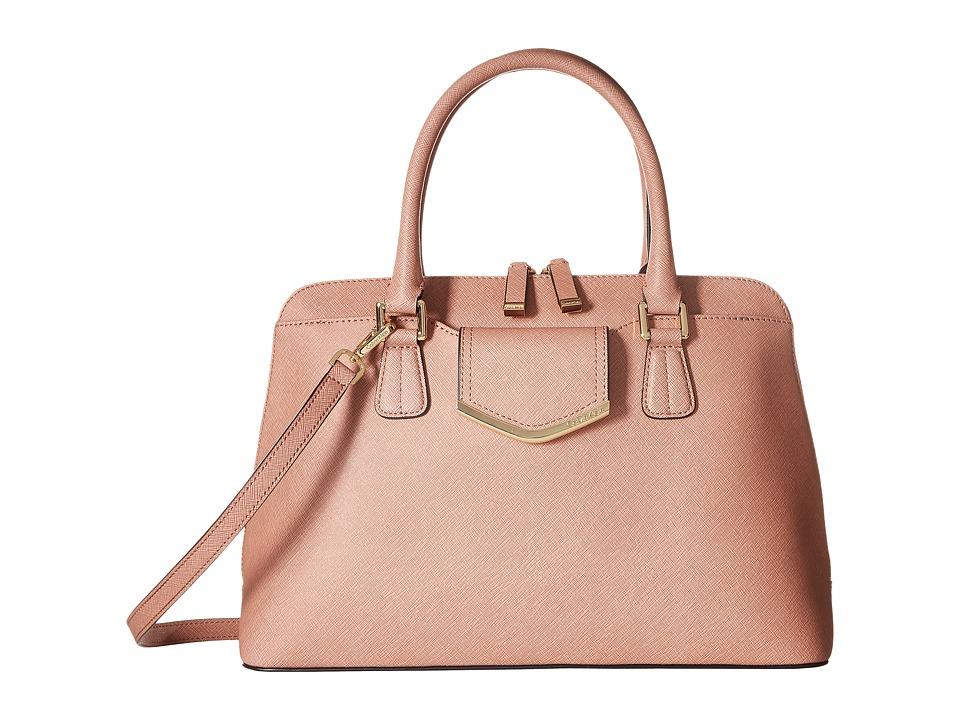 Calvin Klein - On My Corner H3GD11RP (Deep Blush) Satchel Handbags