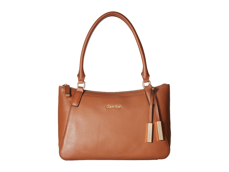 Calvin Klein - Classics Pebble Satchel (Luggage) Satchel Handbags