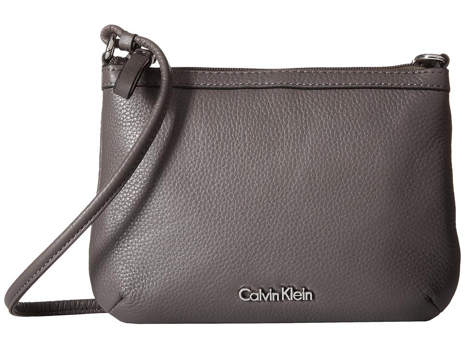 Calvin Klein - Key Items H3DEA1KF (Steel) Cross Body Handbags