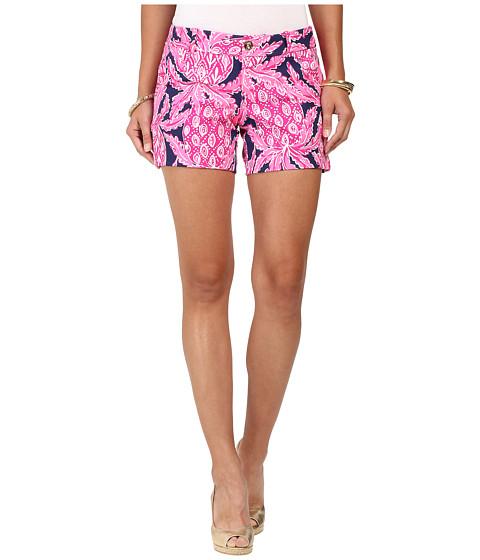 Lilly Pulitzer - Callahan Shorts - Knit (Bright Navy Coco Safari) Women's Shorts
