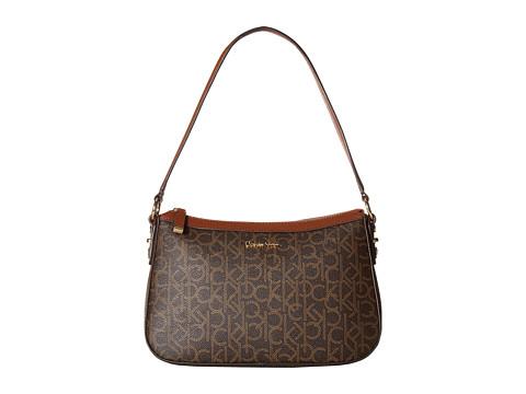 Calvin Klein Hudson Monogram Demi - Brown/Khaki/Luggage