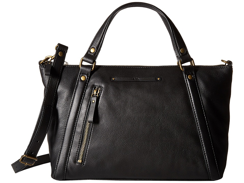 UGG - Jenna Satchel (Black) Satchel Handbags
