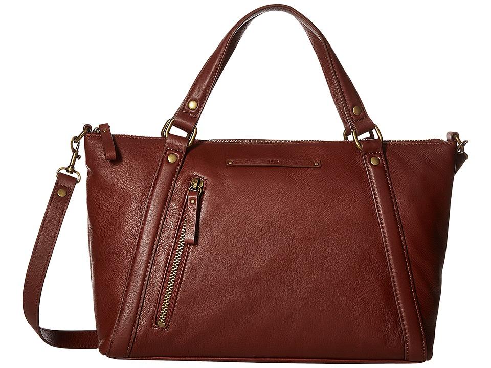 UGG - Jenna Satchel (Deep Mahogany) Satchel Handbags