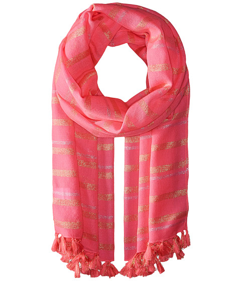 Lilly Pulitzer The Lilly Stripe Scarf - Tiki Pink