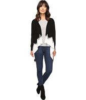 Christin Michaels - Diem Two-Tone Ribbed Cardigan