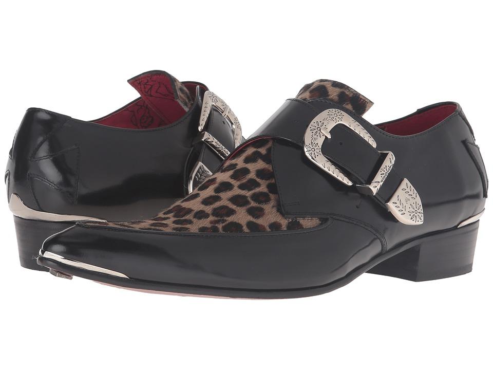 60s Mens Shoes | 70s Mens shoes – Platforms, Boots Jeffery-West - Apron Monk Black Mens Shoes $318.00 AT vintagedancer.com