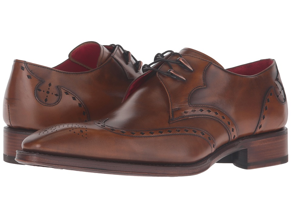 Jeffery-West - Amityville-Wing Gibson (Tan) Mens Shoes