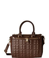 Rampage - Plaid Quilted Satchel