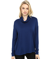 Three Dots - Shiri - Funnel Neck Swing Top