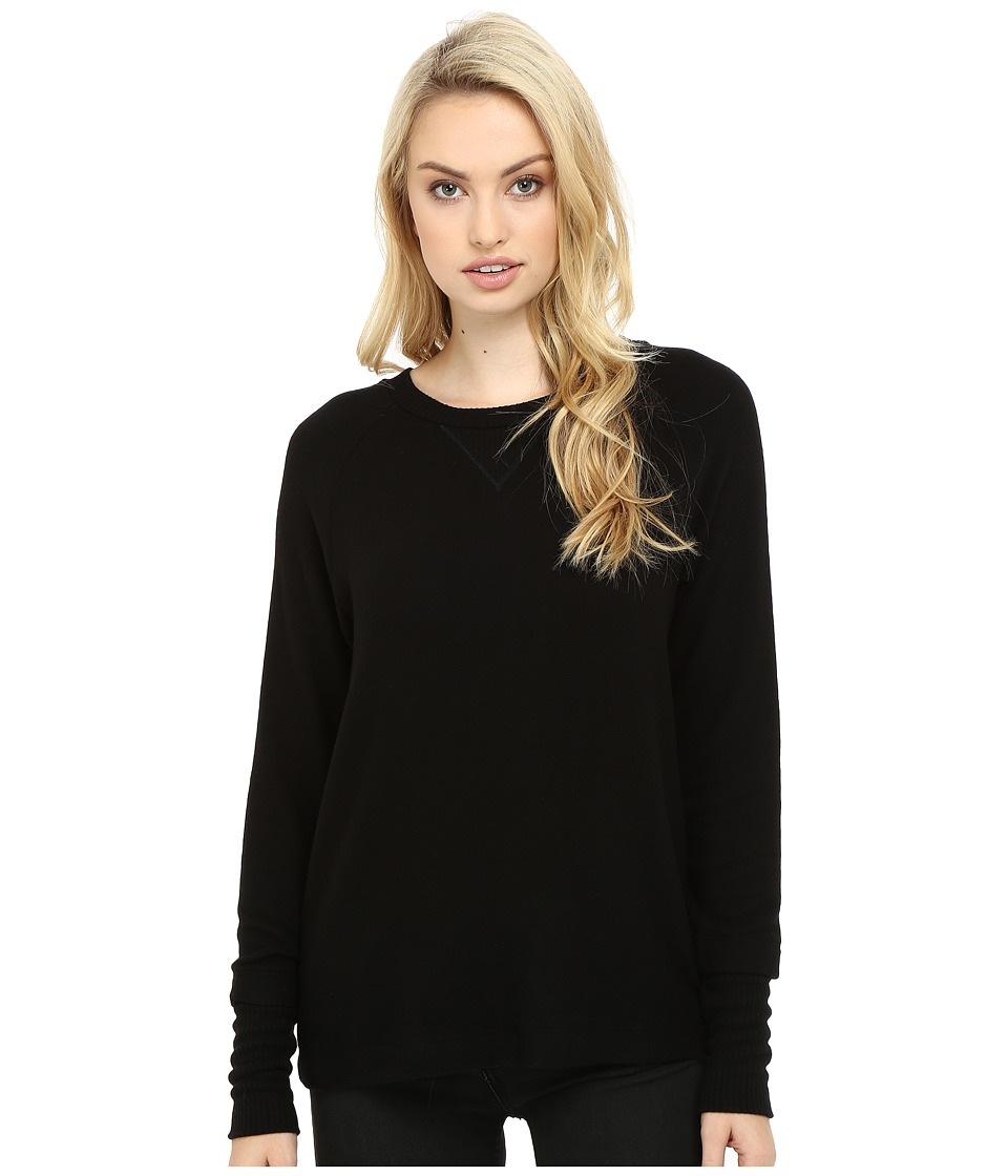 Three Dots - Shala - Brushed Sweater (Black) Women