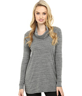 Three Dots - Mimi - Long Sleeve Funnel Neck Tunic