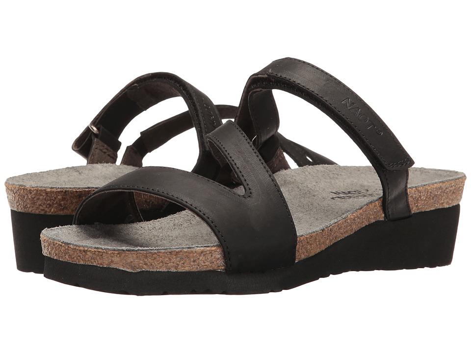 Naot Footwear Gabriela (Oily Coal Nubuck) Women