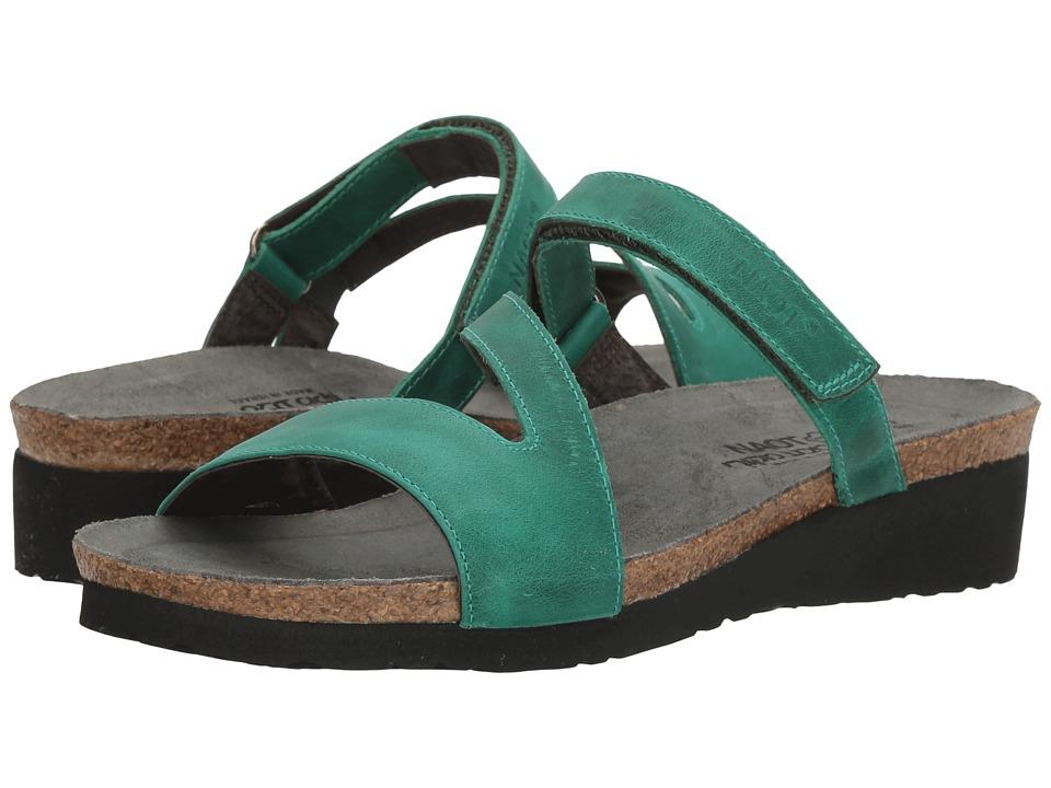 Naot Footwear Gabriela (Oily Emerald Nubuck) Women