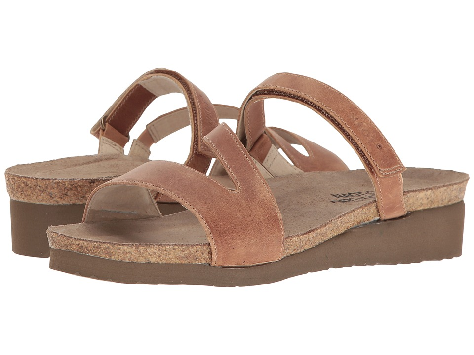 Naot Footwear Gabriela (Latte Brown Leather) Women