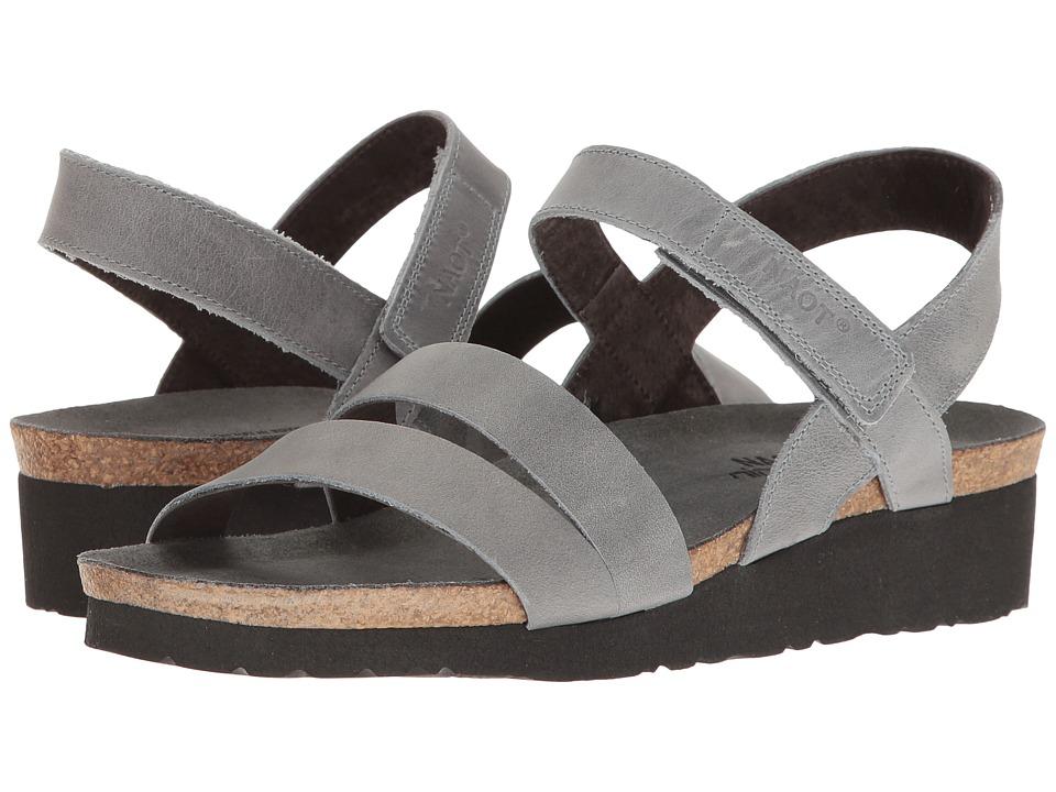 Naot Kayla (Vintage Slate Leather) Sandals