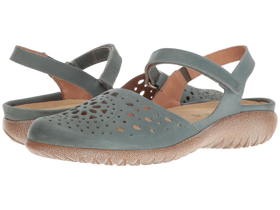 Naot Footwear Arataki (Sea Green Leather) Women