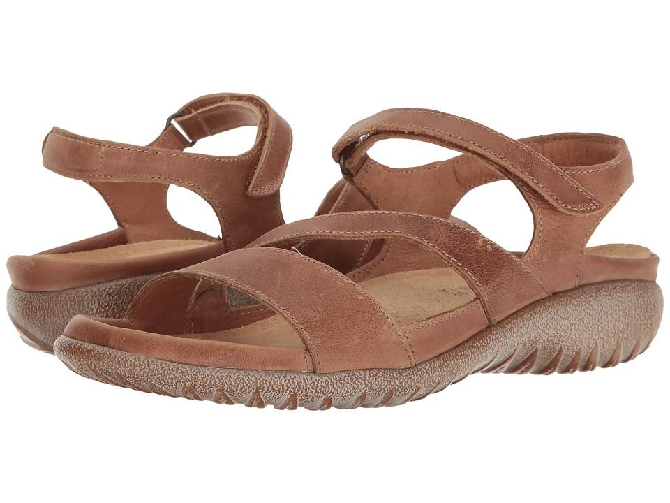 Naot Footwear Etera (Latte Brown Leather) Women