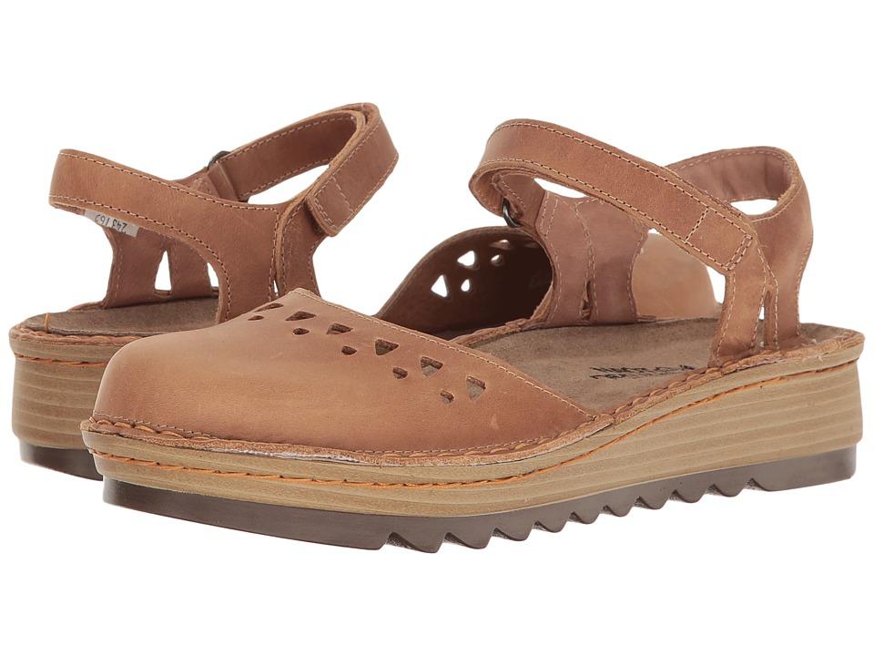 Naot Celosia (Latte Brown Leather) Women