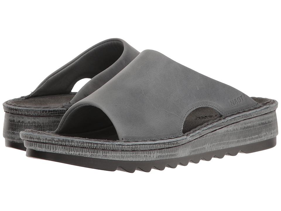 Naot Ardisia (Vintage Slate Leather) Sandals
