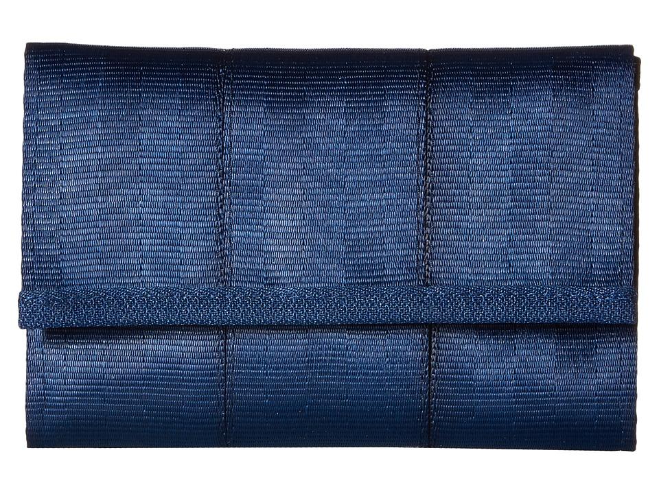 Harveys Seatbelt Bag - Snap Wallet (Indigo) Wallet Handbags