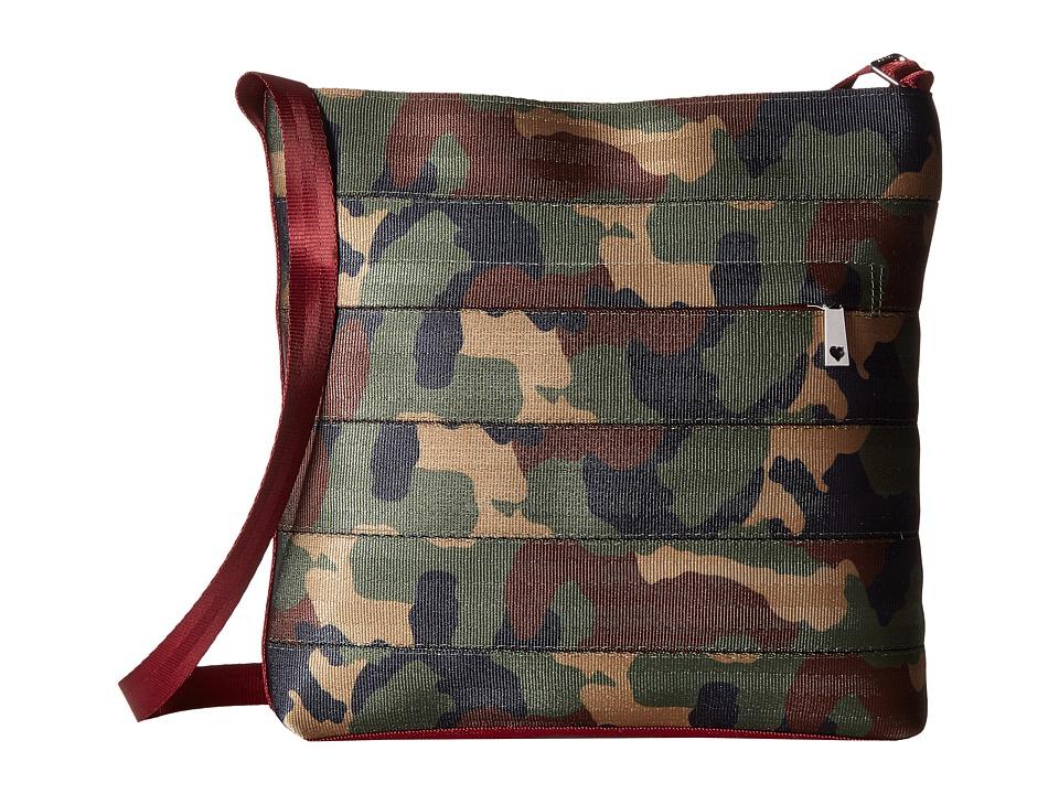 Harveys Seatbelt Bag - Streamline Crossbody (Camo) Cross Body Handbags