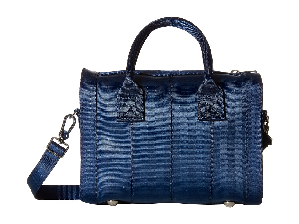 Harveys Seatbelt Bag - Mini Marilyn Satchel (Indigo) Satchel Handbags