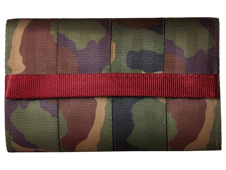 Harveys Seatbelt Bag - Streamline Wallet (Camo) Bill-fold Wallet