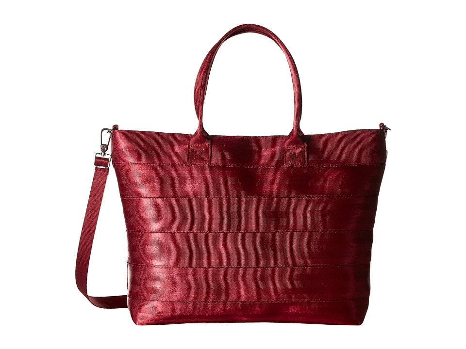 Harveys Seatbelt Bag - Medium Streamline Tote (Maroon) Tote Handbags