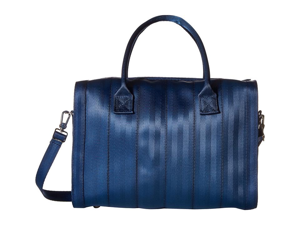 Harveys Seatbelt Bag - Marilyn Satchel (Indigo) Satchel Handbags
