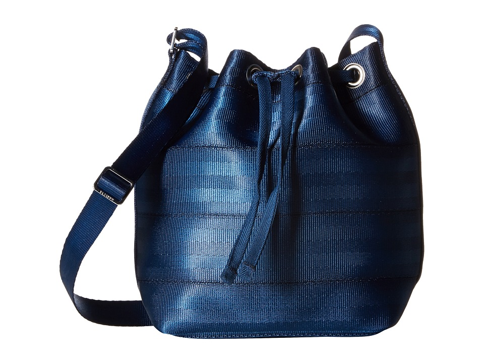 Harveys Seatbelt Bag - Mini Bucket (Indigo) Handbags