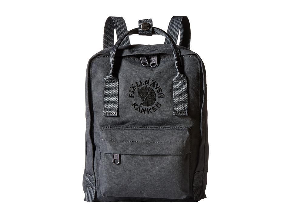 Fjallraven - Re-Kanken Mini (Slate) Bags