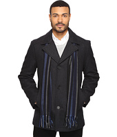 Perry Ellis - Wool Button Front with Scarf