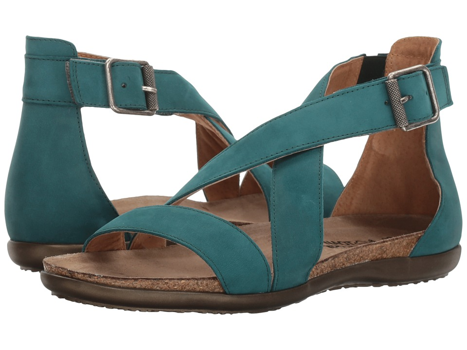 Naot Rianna (Teal Nubuck) Women's Shoes